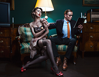 Red Line District Cosmetics Campaign 2014