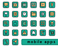 Mobil Apps Button