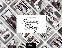 Summer Instagram Story