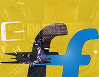 UX, Ui, Interaction, Icons & Banner Design for Flipkart