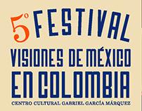 5 Festival Visiones de México en Colombia