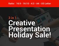 Bundle creative presentation powerpoint template