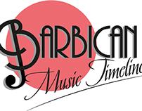 Barbican Music Timeline