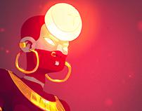SOLAR BALANCE iPad illustrations