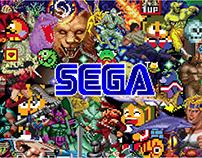Sega Retro Style Guide