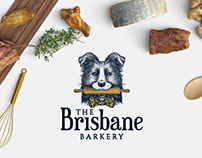 The Brisbane Barkery Logo and Packaging design