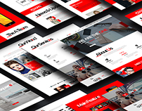 D One - Creative Agency Onepage PSD Template