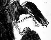 Raven hair