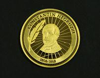 C.Negruzzi Coin Design for National Bank of Moldavia