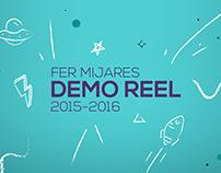 Demo reel 2015-2016