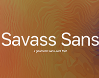 Savass Sans - Available on MyFonts and Creative Market