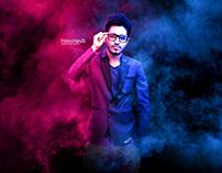 Color Smoke Photo Manipulation effect - Photoshop tutor