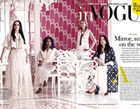 for Vogue,  Photography: Anand Gogoi