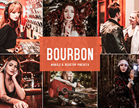 Free Bourbon Mobile & Desktop Lightroom Presets