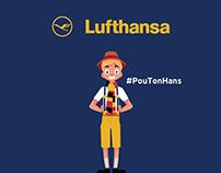 Lufthansa #PouTonHans Digital Contest
