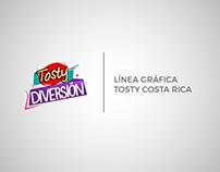 Línea Gráfica Tosty Costa Rica