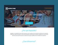 ApplyMe Landing page