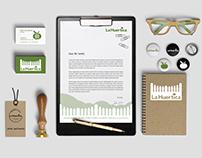 La Huertica Corporate Stationery Design