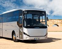 Mars, Mercavim Long distance bus.