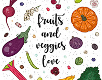 Fruits and Veggies Love