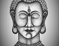 Buddha, a drop of attention.