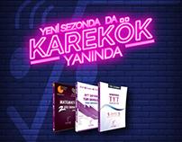 Karekök Publishing Social Media Post Images