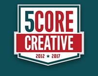 Score Creative Anniversary Logo