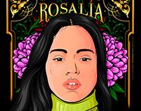Rosalía - Vector Portrait
