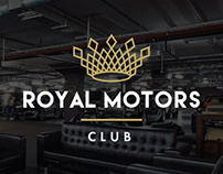 Corporate Identity «Royal Motors club»