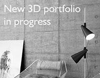 New 3D portfolio