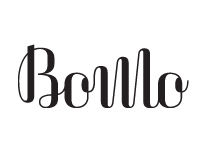 BoMo. Lettering & logotype for a graphic design studio