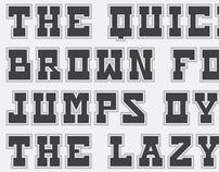 Sherif 3000 Typeface