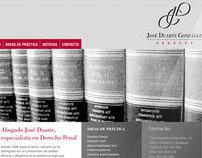 Abogado José Duarte - Lawer José Duarte