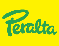 Peralta. Lettering and identity for a graphic designer