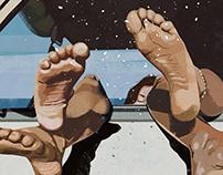 van life | illustration set