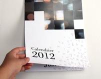 """Calendrier 2012 """" Partout on lit """""""
