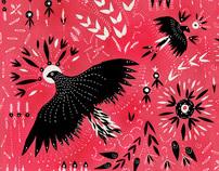 Pompavana - Ilustrations for clothes