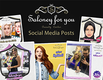 Salony for you (Social posts)