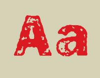 Frankie, a grunge typeface