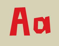 Cortada, my first typeface