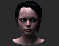 Christina Ricci 3D model