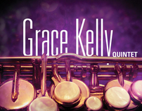 Grace Kelly Quintet & Phil Woods Gig Poster & Billboard