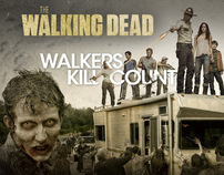 The Walking Dead 'Kill Counter' iPad and iPhone App