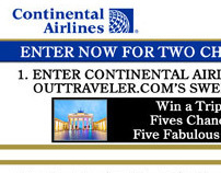 Continental Airlines & OUT Traveler