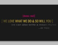 Music Video Demo Reel