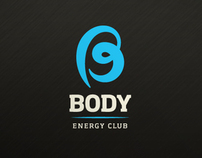 Visual identity for a health & fitness club