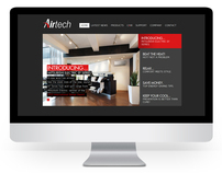 Airtech website design