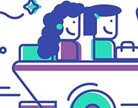 Intra Campus App - Mascot