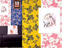HIDDEN WORLD wallpaper Addicted to Patterns collection