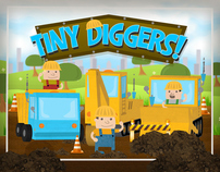 Tiny Diggers - Educational Truck Game for Kids - iPad